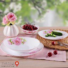سرویس غذاخوری اپال لیانا ۲۴۳ پارس اوپال ۲۸ پارچه