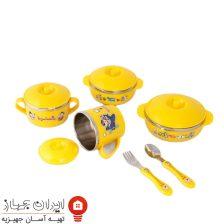 ظرف غذا ۱۰ تکه کودک مدل BS-SA-Bl