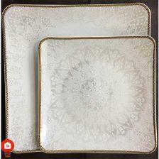 سرویس غذاخوری ۳۰ پارچه ( ۶ نفره ) قالب فیوچر گل آرایی آرامش